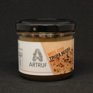 miel con trufa negra
